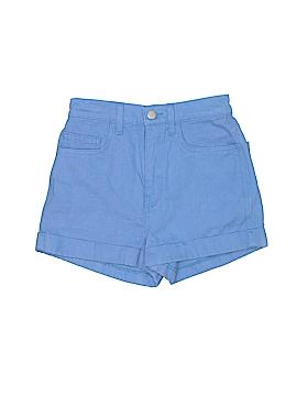 American Apparel Denim Shorts 34 Waist
