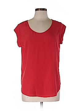 Otte Short Sleeve Silk Top Size L