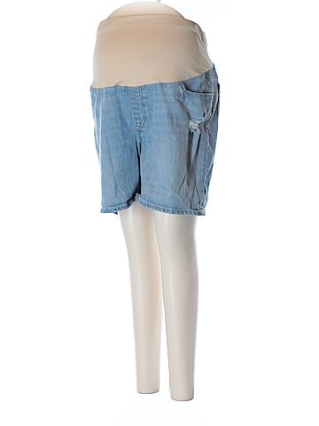 Ann Taylor LOFT Denim Shorts Size 16P Maternity (Maternity)