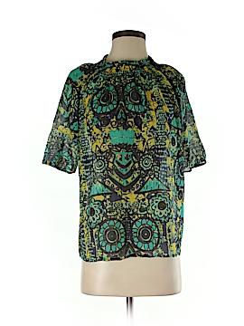 M Missoni Short Sleeve Blouse Size 40 (IT)
