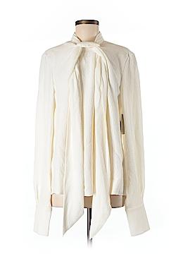 Jason Wu Long Sleeve Silk Top Size 8