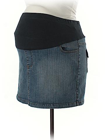 Motherhood Denim Skirt Size XL (Maternity)