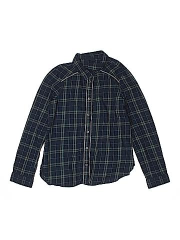 Gap Kids Long Sleeve Button-Down Shirt Size 14 - 16