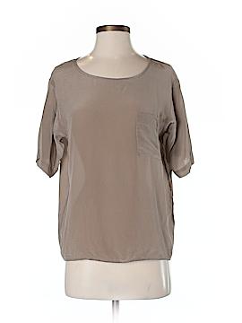 Uniqlo Short Sleeve Silk Top Size XS