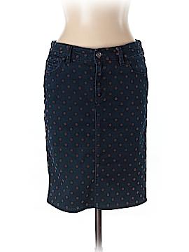 Pilcro and The Letterpress Denim Skirt 30 Waist