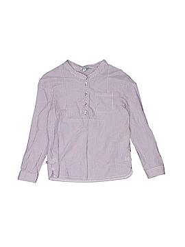 CdeC Long Sleeve Button-Down Shirt Size 4