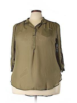 Penelope Long Sleeve Blouse Size 3X (Plus)