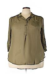 Penelope Women Long Sleeve Blouse Size 3X (Plus)