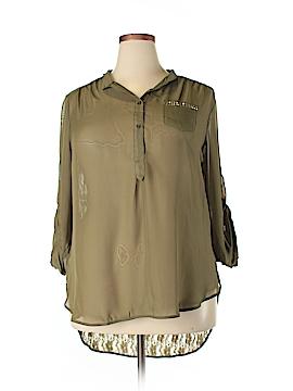 Penelope Long Sleeve Blouse Size 1X (Plus)