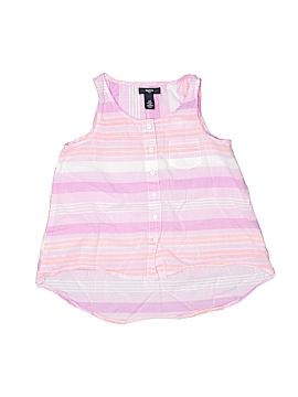 Gap Kids Outlet Sleeveless Button-Down Shirt Size 8/9