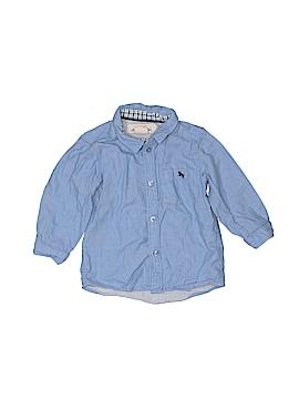 H&M L.O.G.G. Long Sleeve Button-Down Shirt Size 9-12 mo