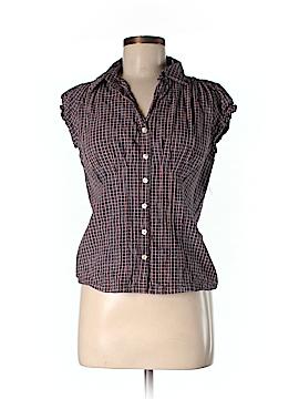 Millenium Short Sleeve Button-Down Shirt Size M