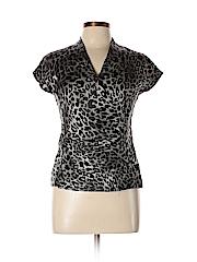 Talbots Women Short Sleeve Blouse Size 10