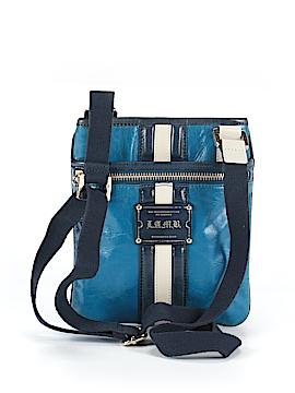 L.A.M.B. Leather Crossbody Bag One Size