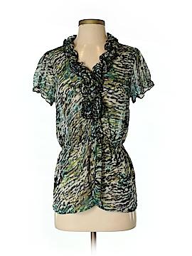 Sunny Leigh Short Sleeve Blouse Size S