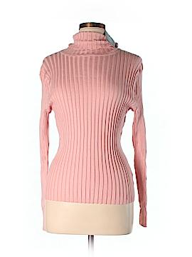 Apostrophe Turtleneck Sweater Size L (Petite)
