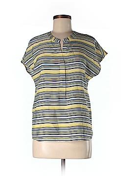 Ann Taylor Factory Women Short Sleeve Blouse Size M (Petite)