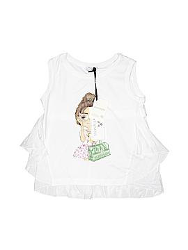 Monnalisa Sleeveless T-Shirt Size 10