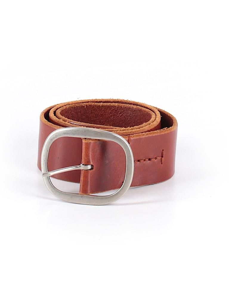 Banana Republic Women Leather Belt Size M