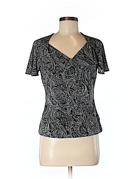AK Anne Klein Short Sleeve Blouse Size M