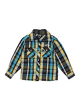 American Hero Long Sleeve Button-Down Shirt Size 5/6