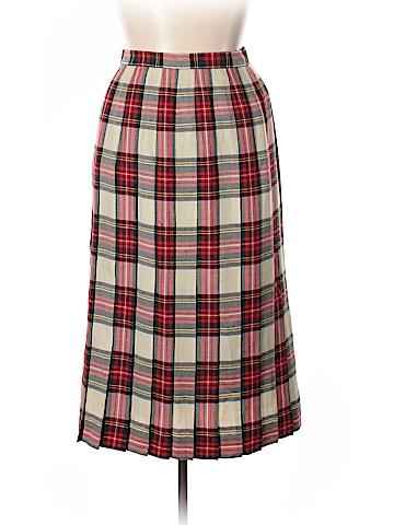 Lands' End Wool Skirt Size 16