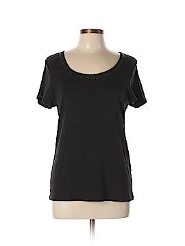 Lizwear by Liz Claiborne Short Sleeve Top Size L