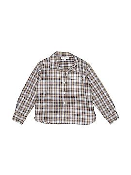 Caramel Baby & Child London Long Sleeve Button-Down Shirt Size 6