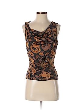 David Meister Sleeveless Silk Top Size S