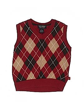 E. Land Sweater Vest Size 4