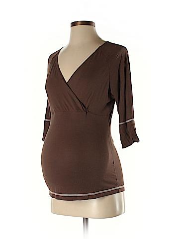 Annee Matthew 3/4 Sleeve Top Size M (Maternity)