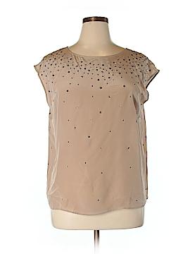 Talbots Short Sleeve Silk Top Size 1X (Plus)
