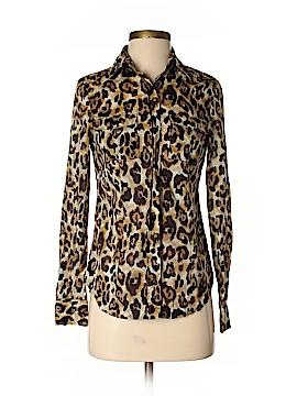 MICHAEL Michael Kors Long Sleeve Button-Down Shirt Size 2