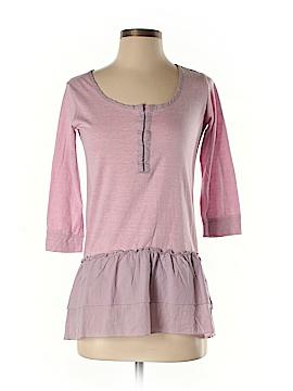Color Thread 3/4 Sleeve Blouse Size S