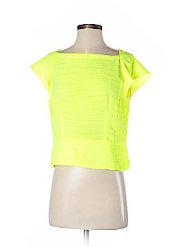 Nanette Lepore Short Sleeve Blouse Size 8