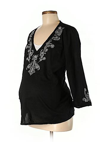 Announcements Maternity 3/4 Sleeve Blouse Size XL (Maternity)
