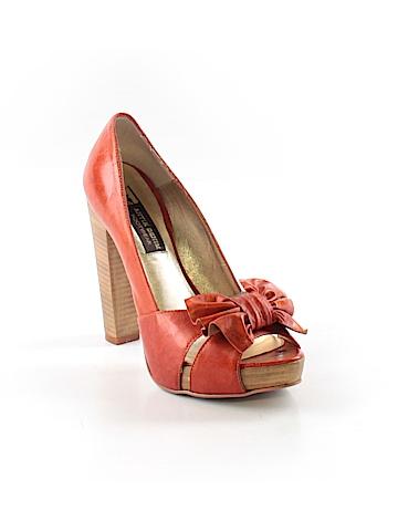 Antik Denim Heels Size 5 1/2