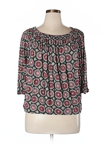 MICHAEL Michael Kors 3/4 Sleeve Top Size XL