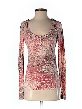 Eloise Long Sleeve Henley Size M