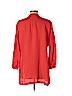 Eileen Fisher Women 3/4 Sleeve Button-Down Shirt Size L