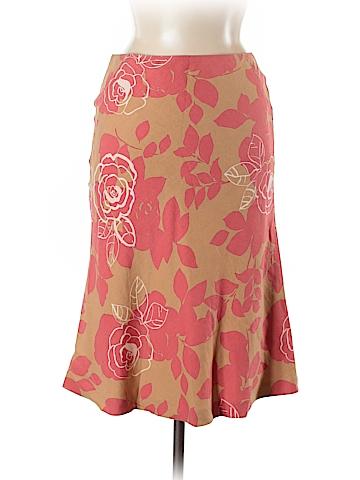 Boden Silk Skirt Size 8