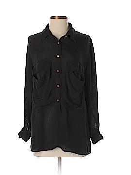 Boulee Long Sleeve Silk Top Size 2