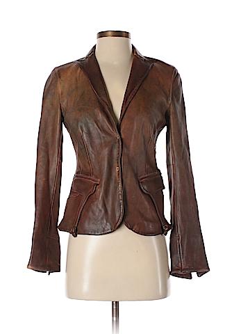 Blur Faux Leather Jacket Size 40 (IT)