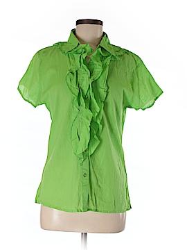 UNITI Short Sleeve Button-Down Shirt Size M