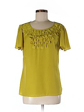 Cremieux Short Sleeve Blouse Size M