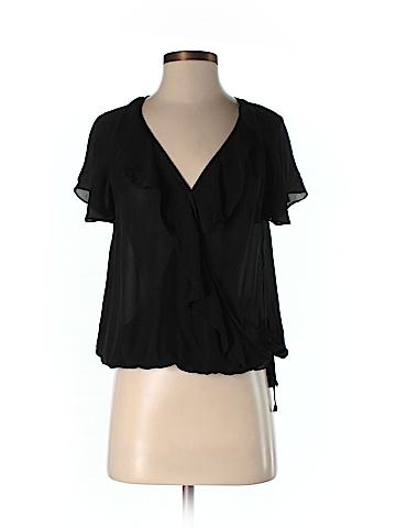Joie Short Sleeve Silk Top Size XS