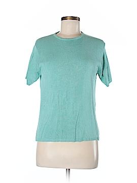 Kevo Short Sleeve Silk Top Size L