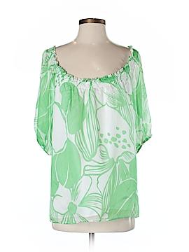 Shoshanna 3/4 Sleeve Silk Top Size 2
