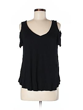 Aqua Short Sleeve Top Size M