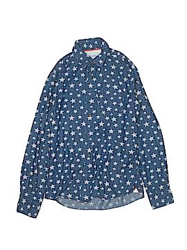 Johnnie b Long Sleeve Button-Down Shirt Size 14